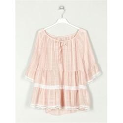 Blusa Oversize c/detalhe em...