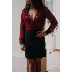 Vestido Lantejoulas
